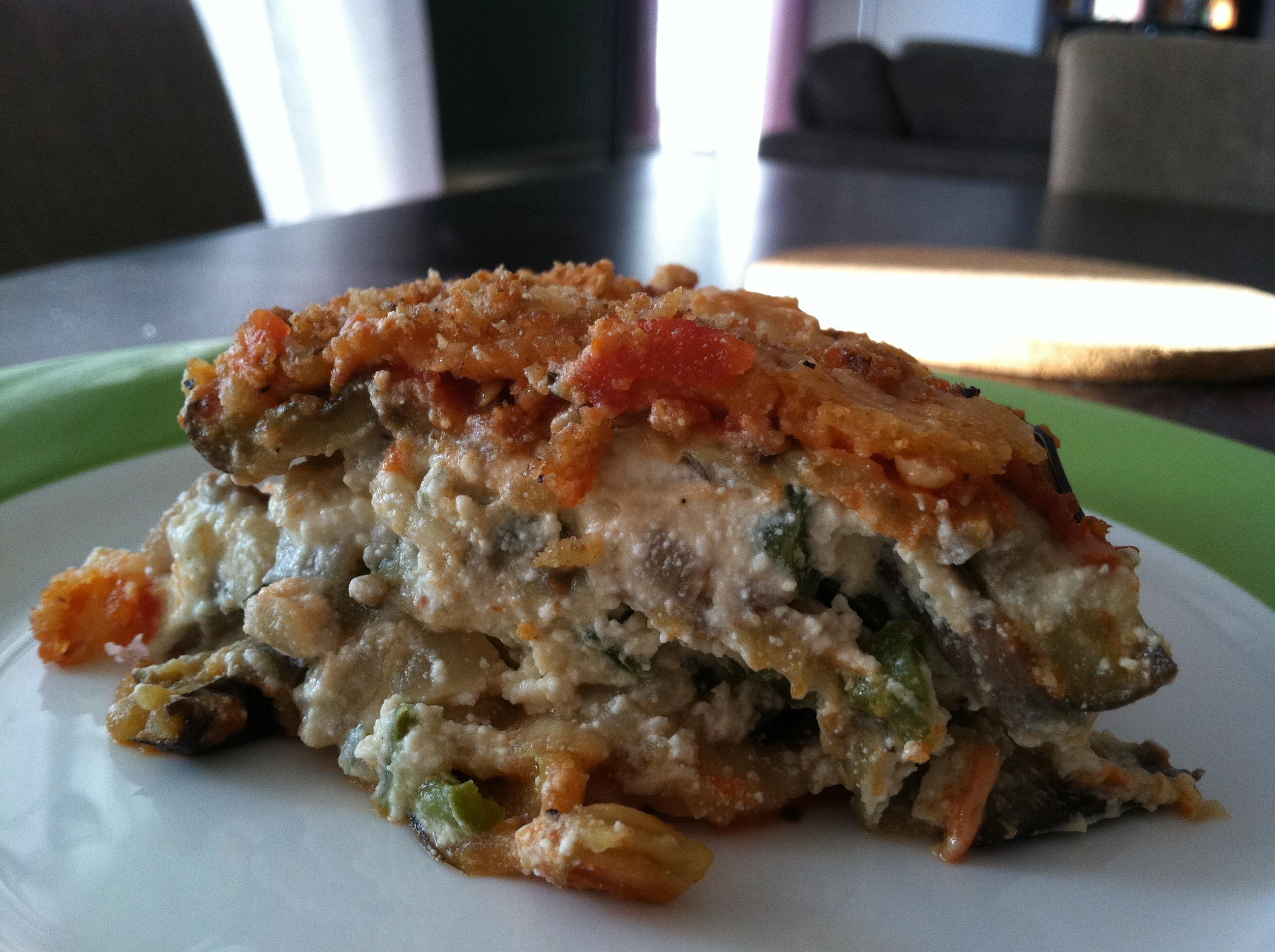 Eggplant Lasagna (Gluten Free)